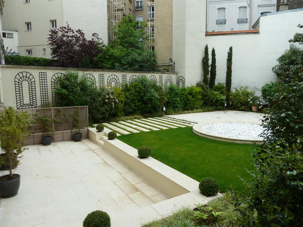 Jardins for Creation de jardin contemporain