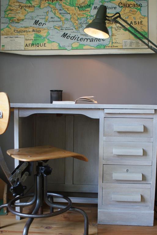 Idee de chambre avec bureau ~ Solutions pour la décoration ...