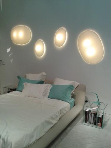 Eclairage 39 bulle 39 en t te de lit projet d co photo n 40 for Eclairage chambre design