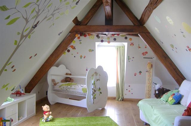Peinture murale chambre enfant meilleures images d for Chambre d autre