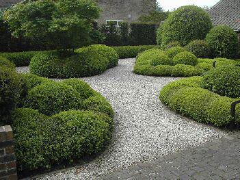 jardin avec all e en graviers jardin de cottage photo n 73. Black Bedroom Furniture Sets. Home Design Ideas