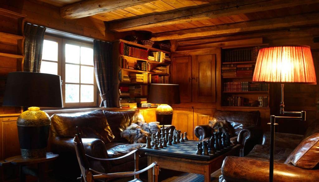 Salon chalet montagne ~ décoration d\'intérieur