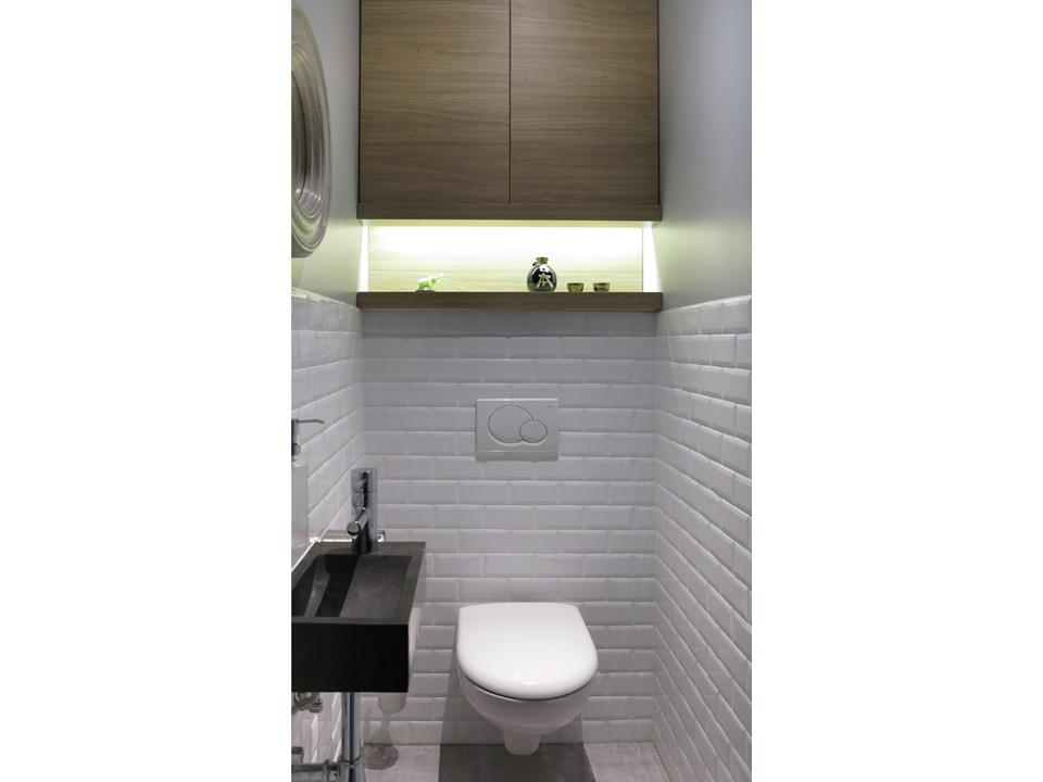 Id es d co pour toilettes par marine delporte for Idee decoration toilettes