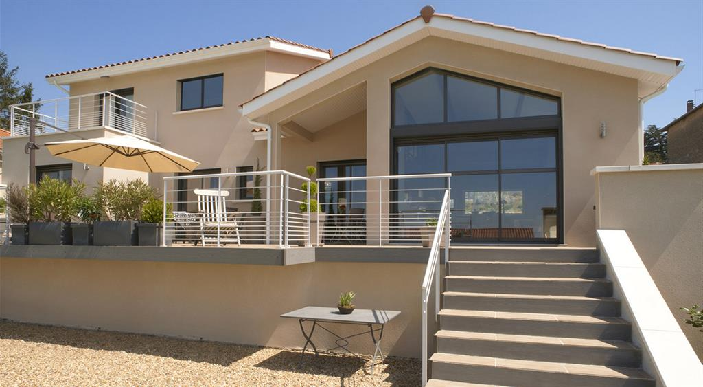 Villa contemporaine avec terrasse MCA LE CERCLE ARTISANAL
