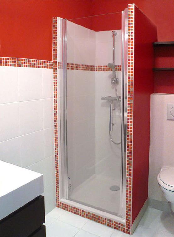 Best Salle De Bain Mosaique Rouge Ideas - House Design - marcomilone.com