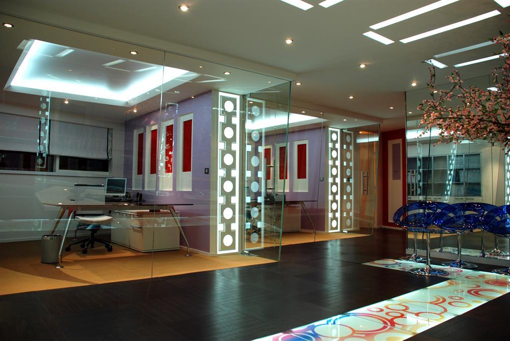 deco bureau design contemporain. Black Bedroom Furniture Sets. Home Design Ideas