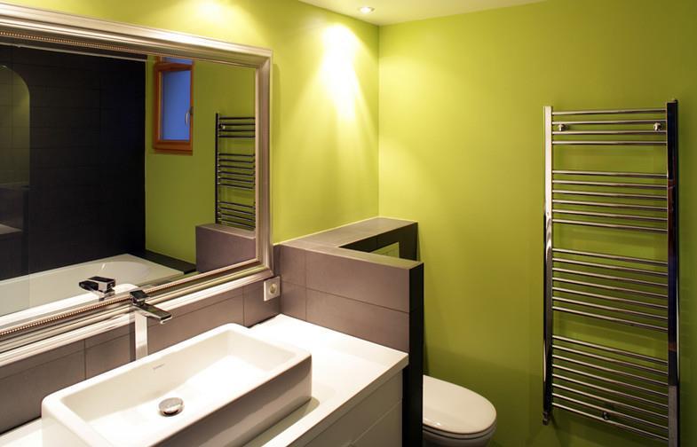 salle de bain moderne vert pomme delphine tempesta - Salle De Bain Fushia Et Vert