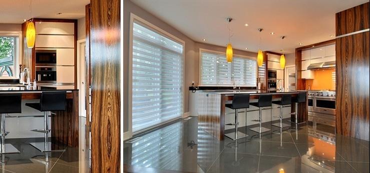Meuble cuisine bois et blanc images for Meuble cuisine blanc et bois