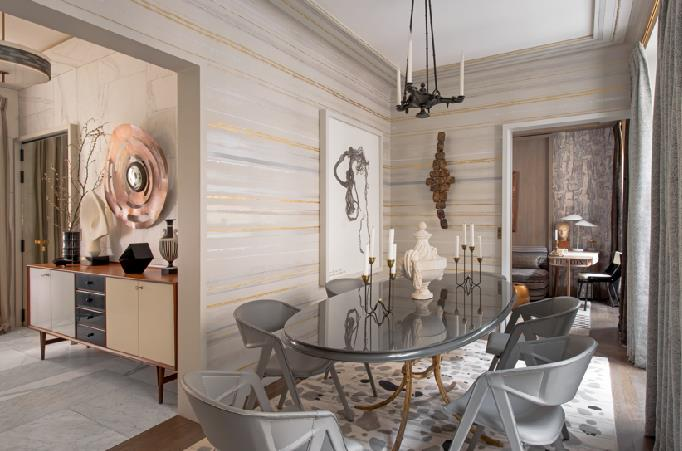 Best Salle A Manger Beige Et Gris Photos - Amazing House Design ...