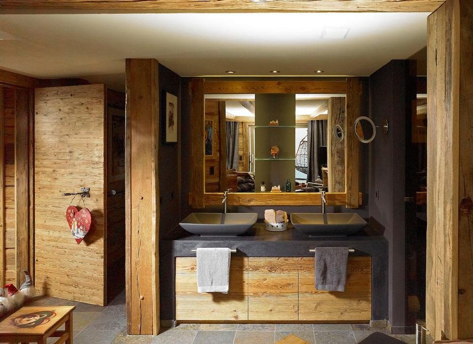 Awesome Meuble Salle De Bain Chalet Contemporary - House Interior ...