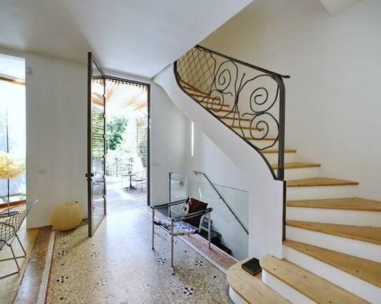 Escalier Maison Moderne. Beautiful Awesome Hall De Maison Moderne ...