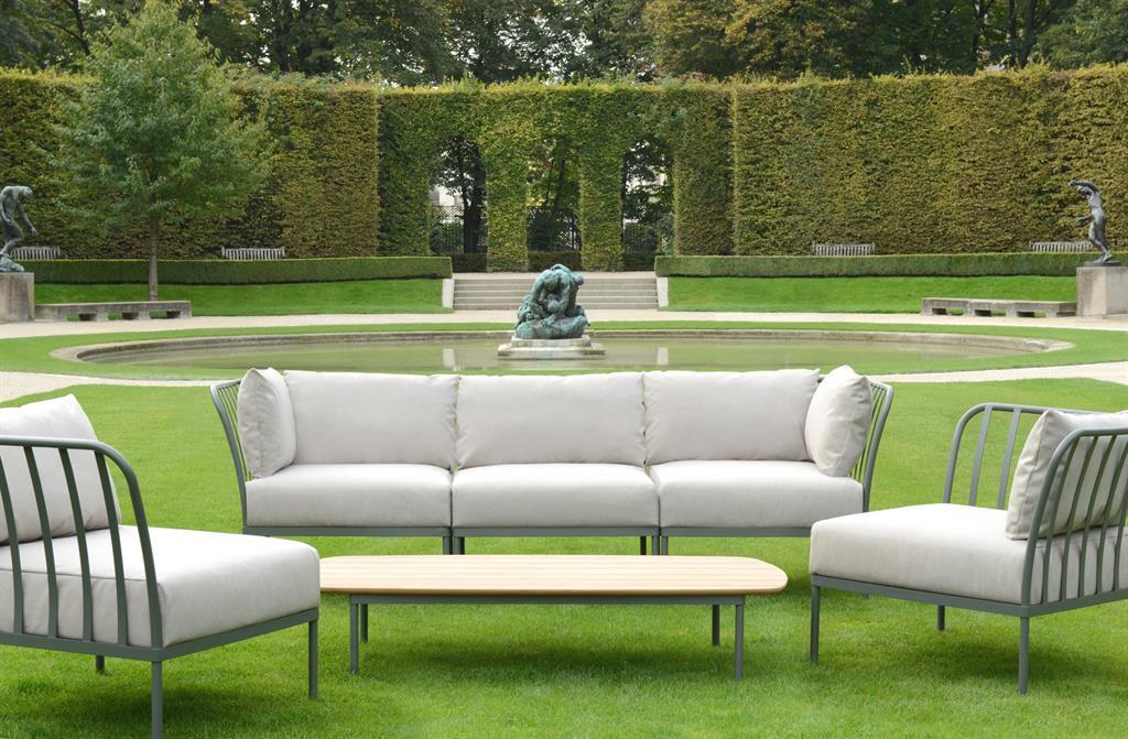 Table Salon De Jardin En Resine : Salon extérieur moderne Tectona photo n°10  Domozoom