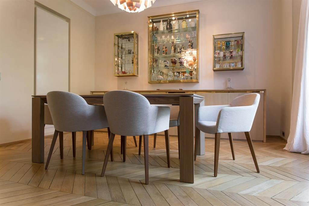 table et chaise salle a manger design - madame ki