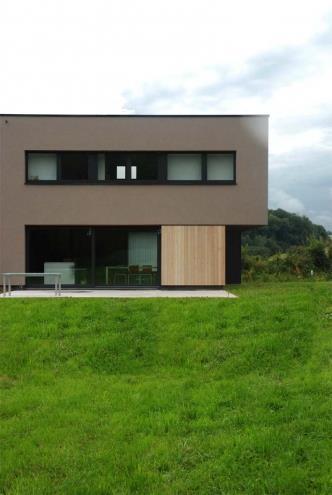 Maison avec fen tre en bandeau pmaa photo n 60 domozoom - Fenetre moderne maison ...