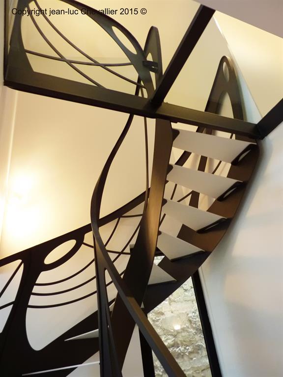 Escalier design métal Mozart - domozoom.com