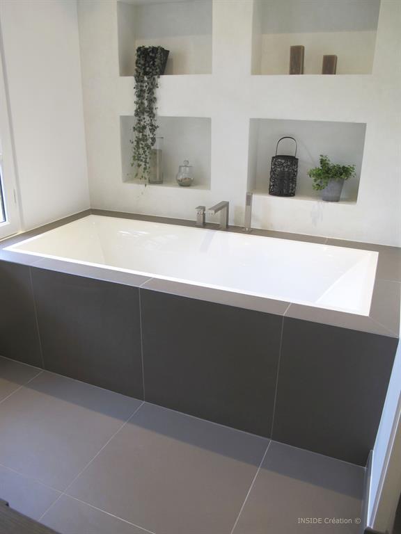 Construire niche salle de bain ~ Solutions pour la décoration ...