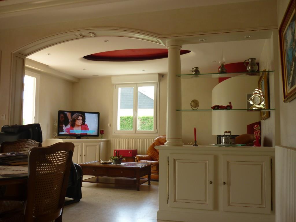 Decoration cuisine platre - Separation salon salle a manger ...