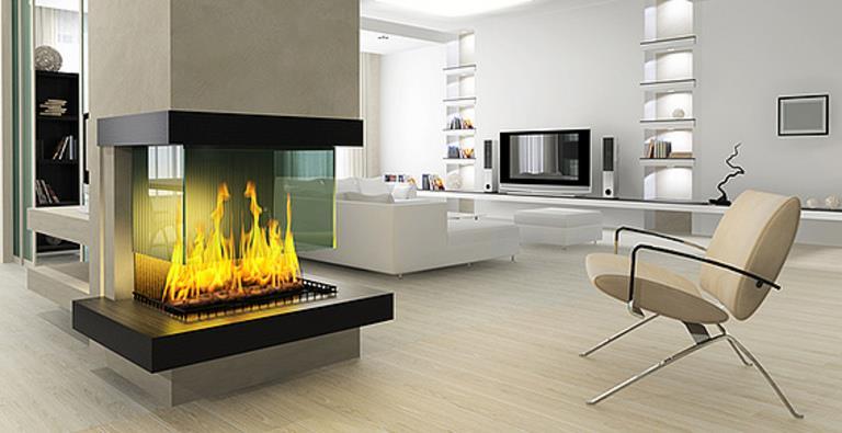 salon contemporain design salon cheminee contemporain la chemin e moderne amne l - Cheminee Contemporain Villa Marocaine