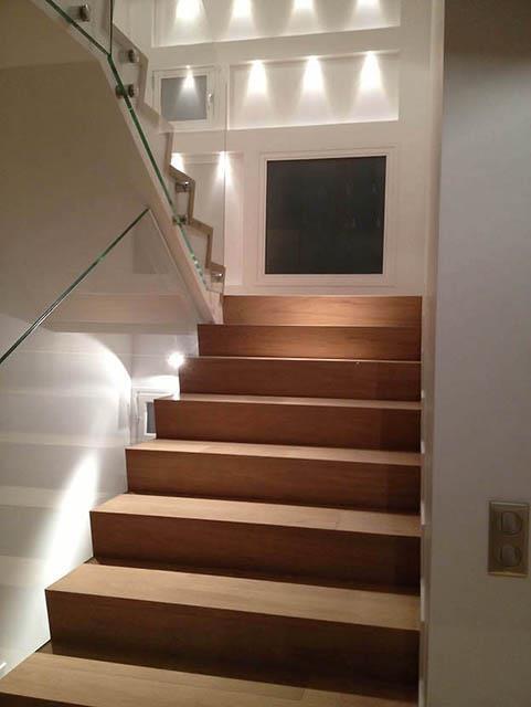 Escalier interieur moderne Escalier bois moderne