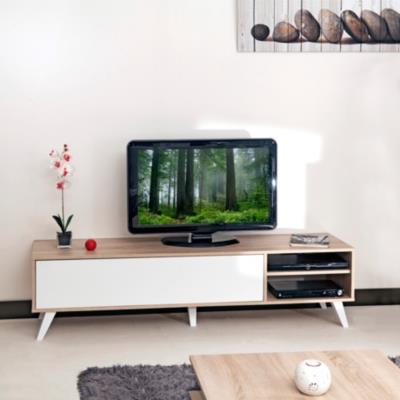 meuble tv malko camif ref a100168301103 domozoom. Black Bedroom Furniture Sets. Home Design Ideas