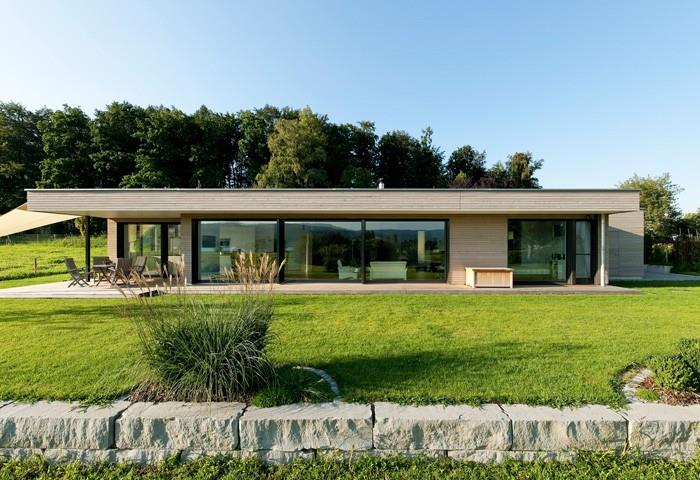 Maison Rectangle Contemporaine – Design à la maison