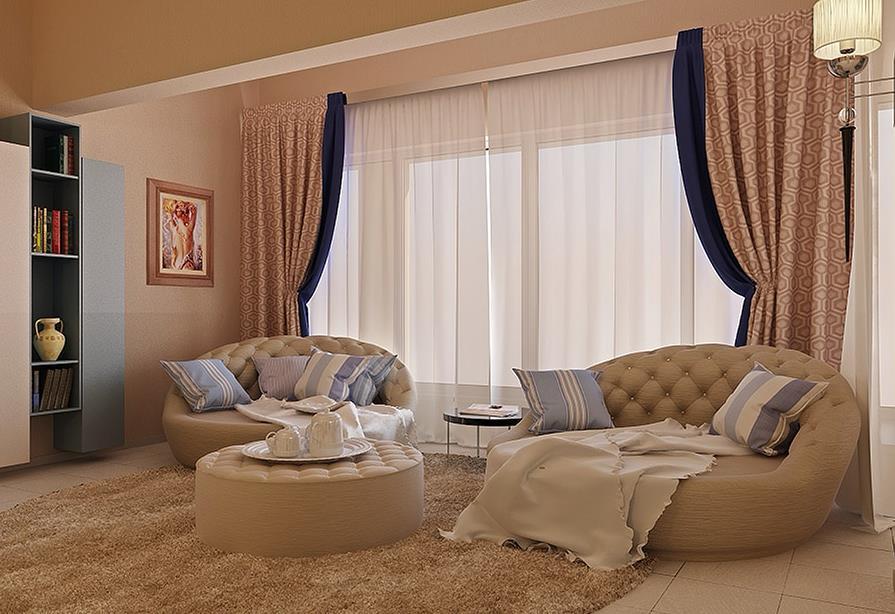 Salon moderne decoin for Model de decoration interieur