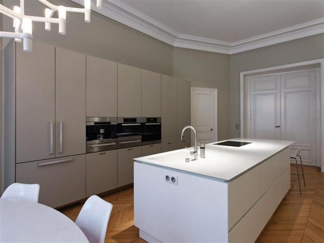 Beautiful Décoration Appartement Haussmannien Contemporain Gallery - Deco haussmannien moderne pour idees de deco de cuisine