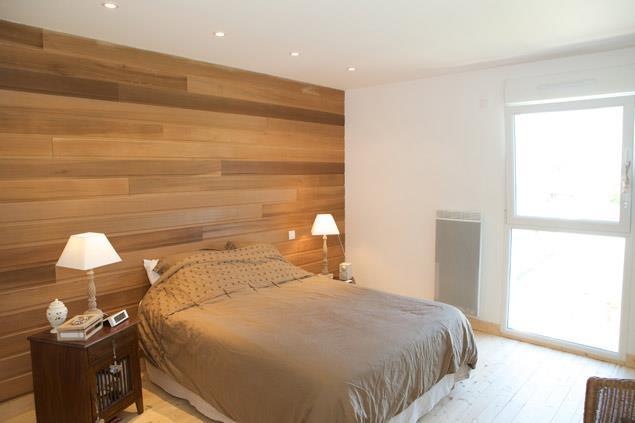 Chambre En Bois Moderne : Chambre adultes moderne d une maison ...
