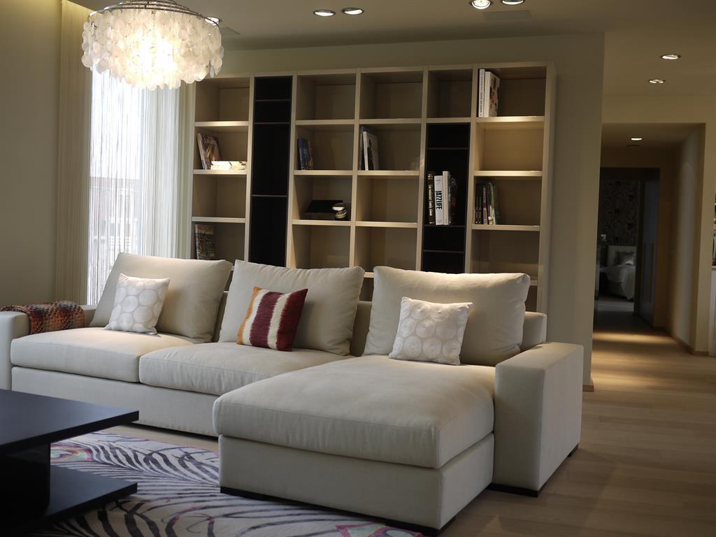 Ambiance feutrée dans le salon pure joy interior design