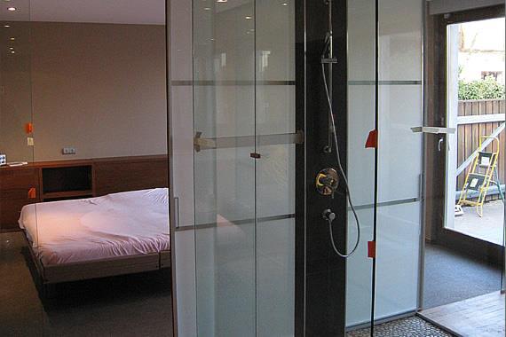 94+ Merveilleux Salle De Bain Ouverte Sur Chambre - Humidit Chambre ...