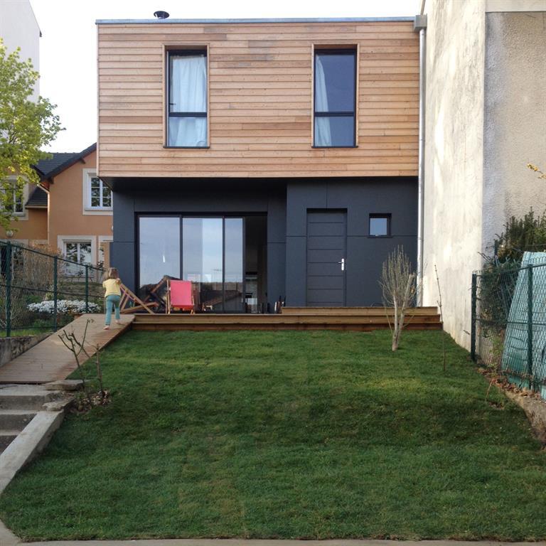 Chambre Bebe Garcon Bleu Nuit : Maison de ville à Chaville  domozoomcom
