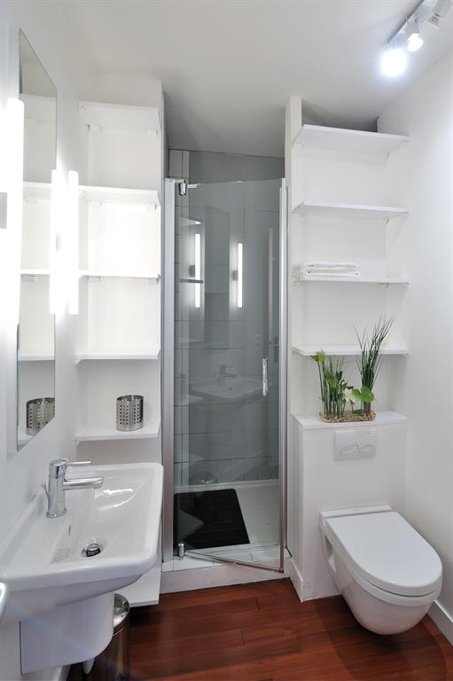 Studio optimis - Salle de douche contemporaine ...