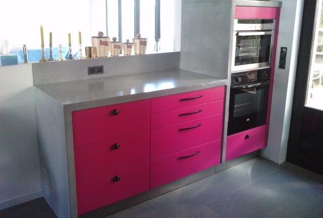 Inspirations de cuisine couleur dans petite cuisine and inspirations de cui - Petite cuisine design ...