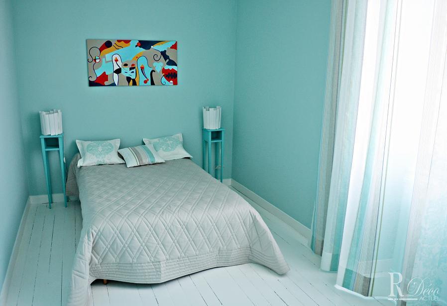 Chambres - Chambre adulte bleue ...