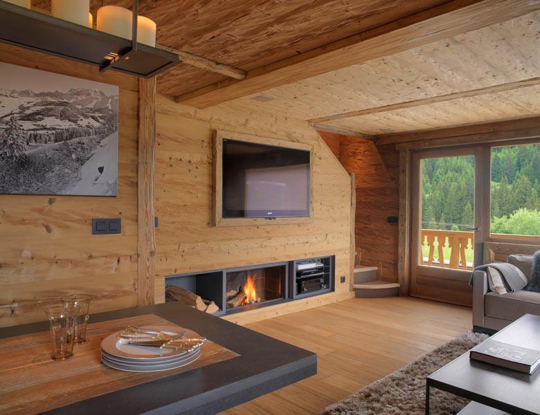Salon chalet montagne ~ Solutions pour la décoration intérieure de ...