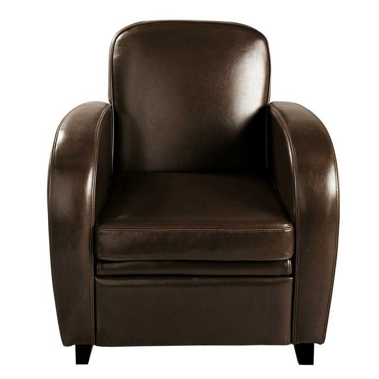fauteuil club noir maison du monde. Black Bedroom Furniture Sets. Home Design Ideas