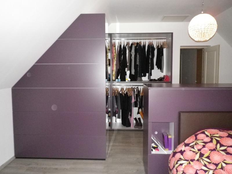 Chambre et dressing design contemporain ~ Image Sur le Design Maison