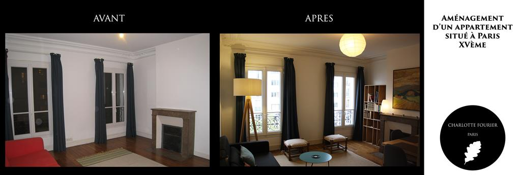 Appartement n 4 paris xv me - Decoration d un salon ...