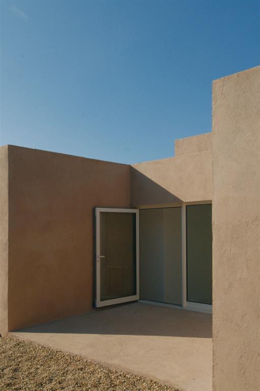 Zoom sur la porte d 39 entr e vitr e atelier calas photo n 09 - Porte d entree style atelier ...