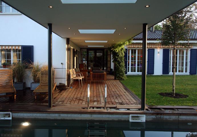 Terrasse Semi Couverte images