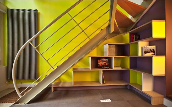 Am nagement sous escalier forum d co for Meuble tv sous escalier