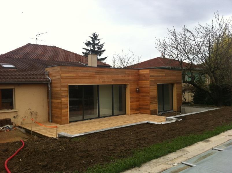 extension en bois de maison existante mike architecte. Black Bedroom Furniture Sets. Home Design Ideas