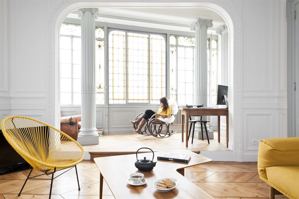 décoration appartement haussmannien moderne | Déco Sphair