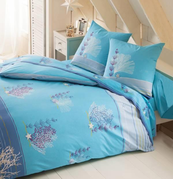 drap housse bleu archipel 2 personnes gd mod le 160cm x. Black Bedroom Furniture Sets. Home Design Ideas