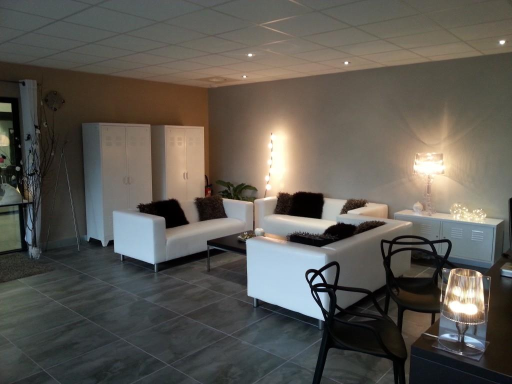 Decoration Salon Carrelage Gris Fonce
