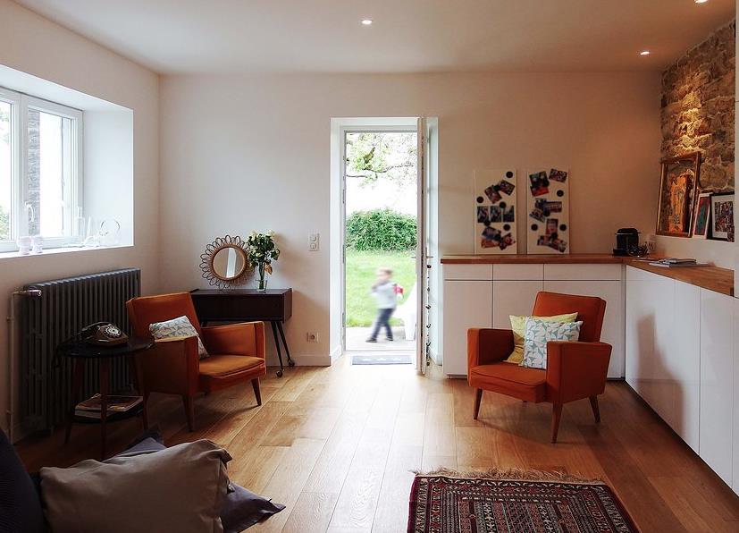 Salon moderne etchaleureux for Salon chaleureux