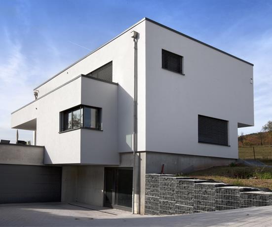 Salon Design Blanc Et Bois : La maison cube une maison moderne assez originale maison cubique