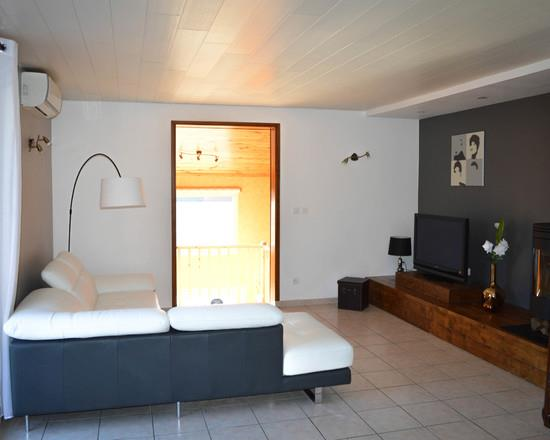 salon moderne gris blanc modele de salon marocain design site de model ede - Model Ede Salon Moderne Blanc