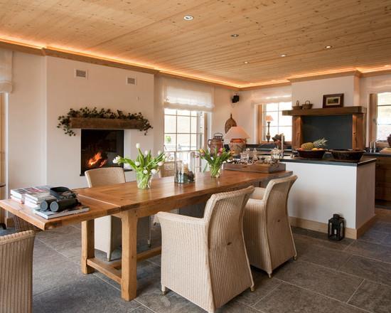 Salle manger donnant sur cuisine ouverte milena cvijanovich - Cuisine salle a manger ouverte ...