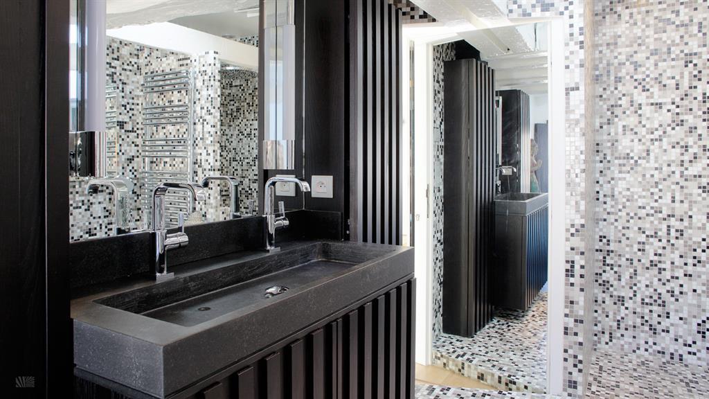 salle de bain mosaique blanche - Salle De Bain Mosaique Blanche